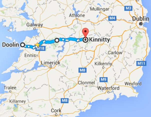 Doolin-to-Kinnitty