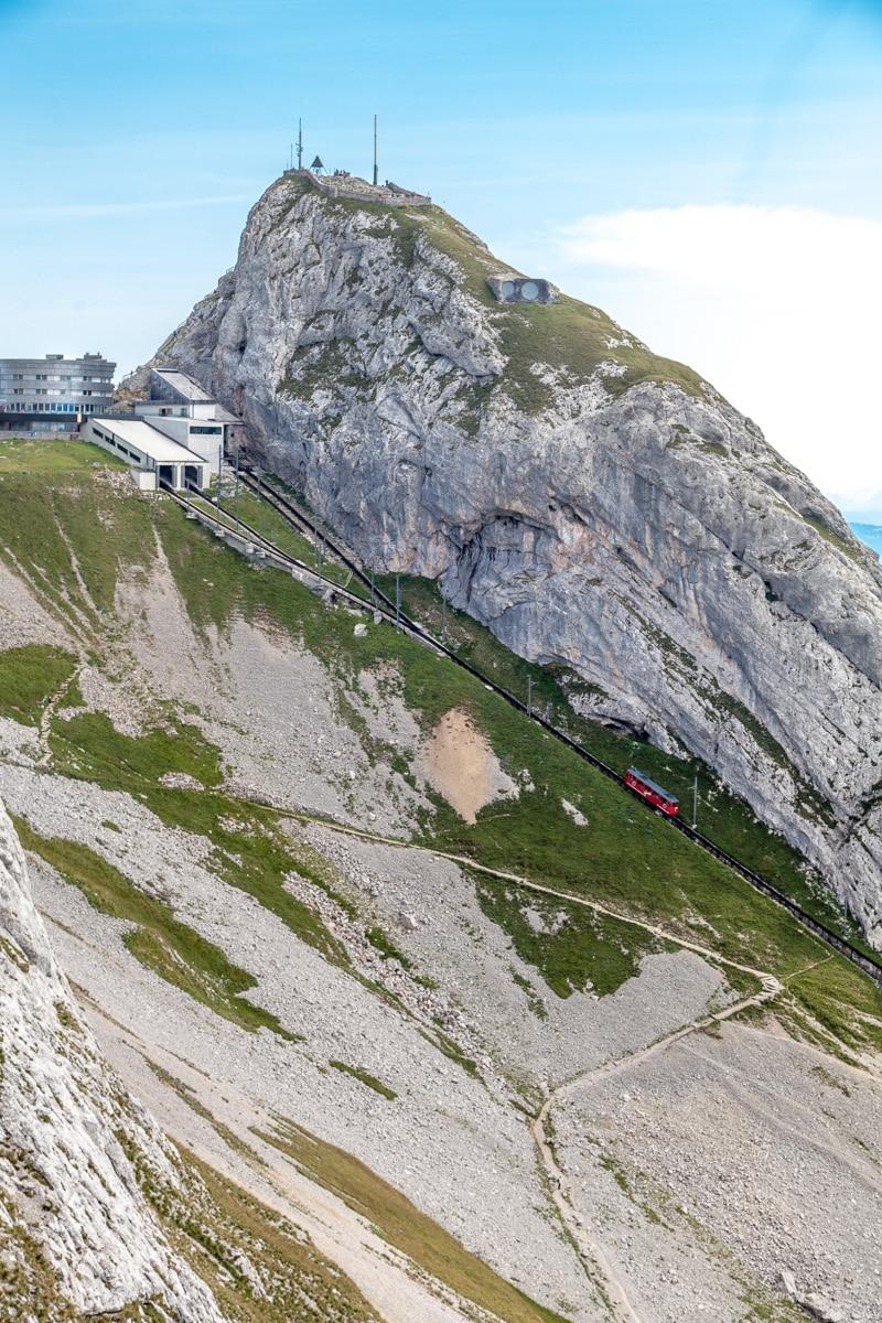 Worlds steepest cogwheel railway