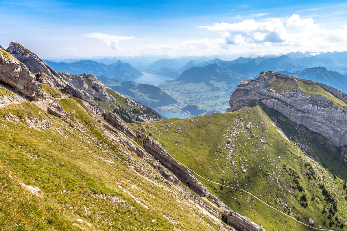 View from Mount Pilatus, Switzerland