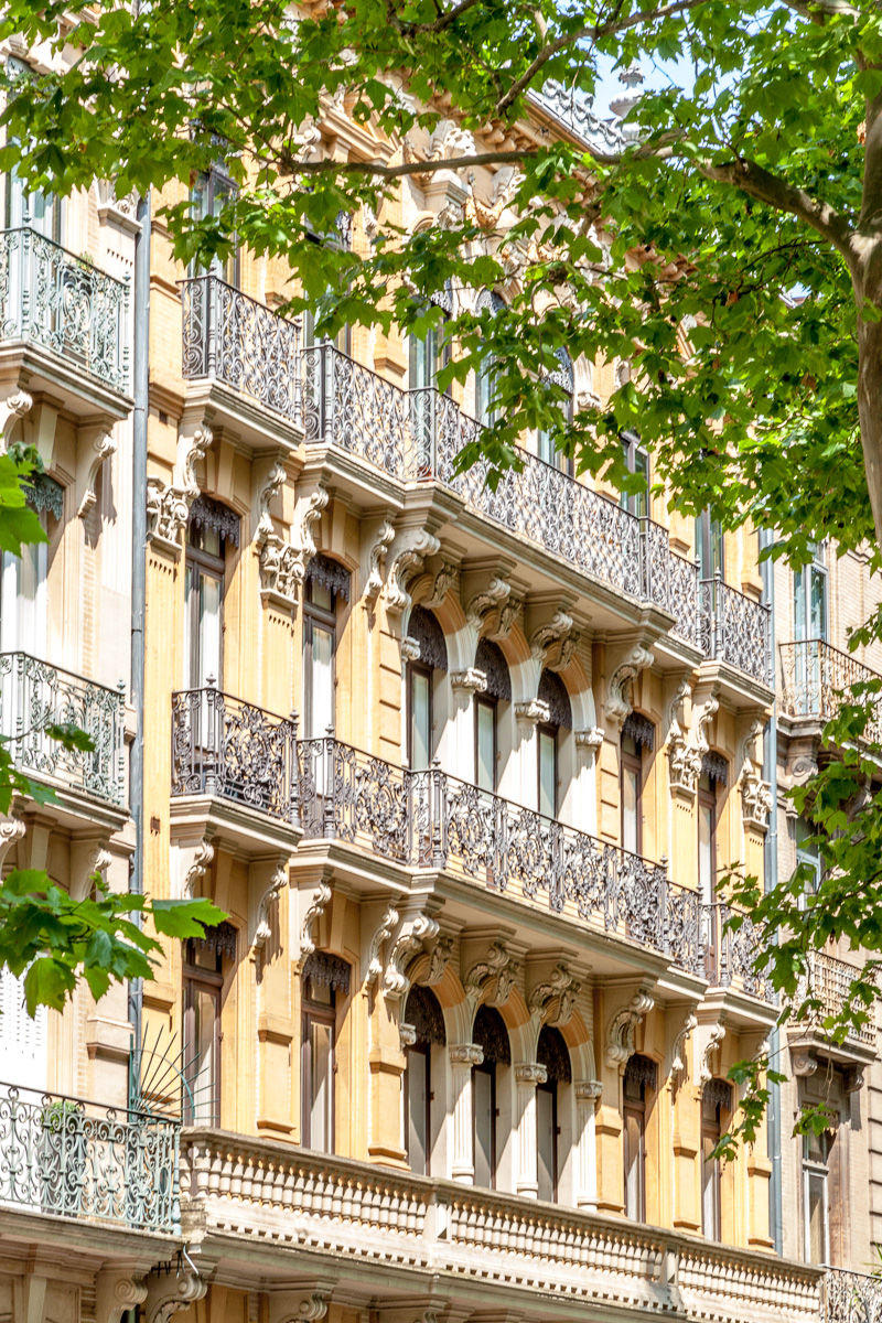 Wrought iron balconies throughout Toulouse - WCF-3085.jpg