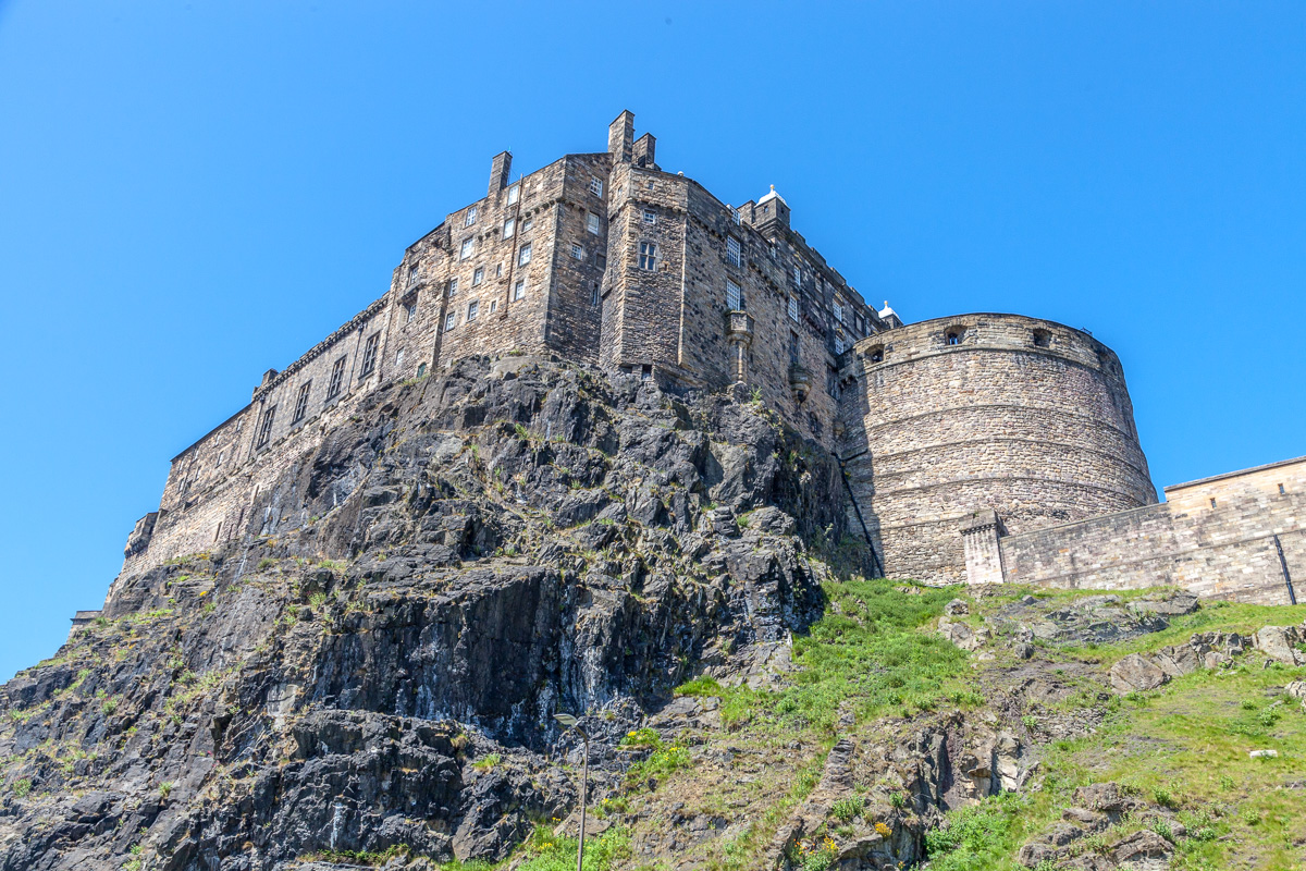 Edinburgh Castle - A Scottish royal <br>residence and military stronghold<br> since at least 1058. - WCF-4927.jpg