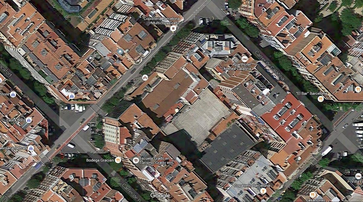Barcelona corners
