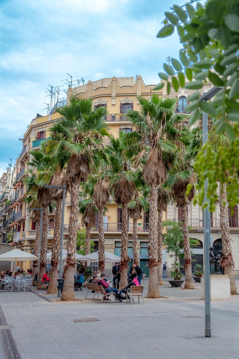 Street scene in Barcelona - 4018