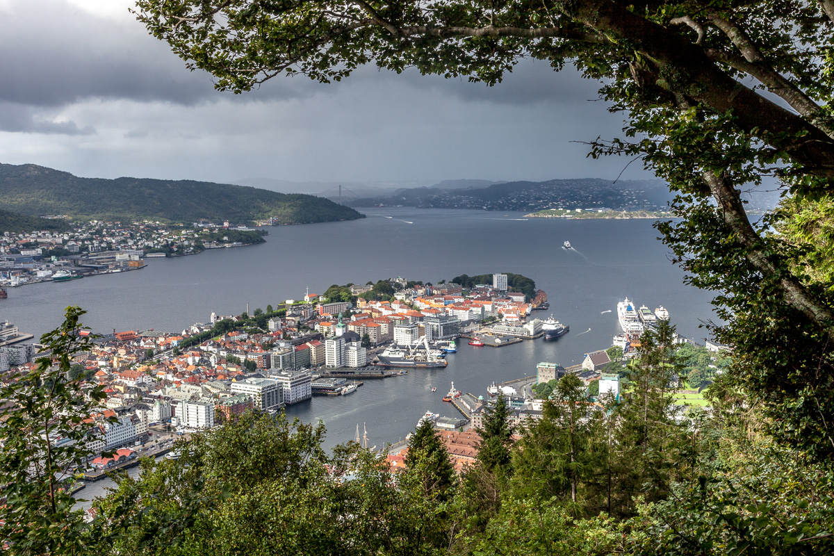 View of Bergen from a trail on Mount Floyen. - WCF-1977.jpg
