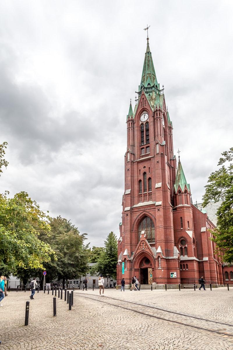 Johanneskirken or St. John's Church, Bergen. - WCF-2256.jpg