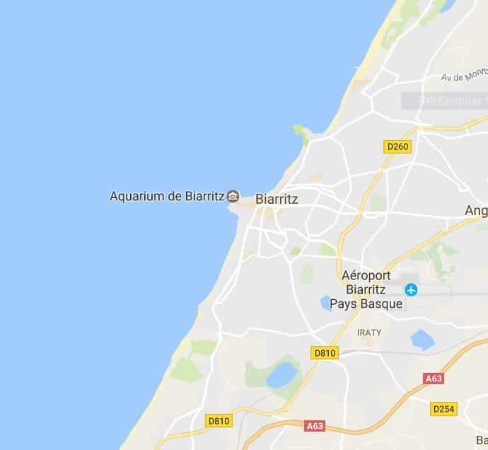 Biarritz Map