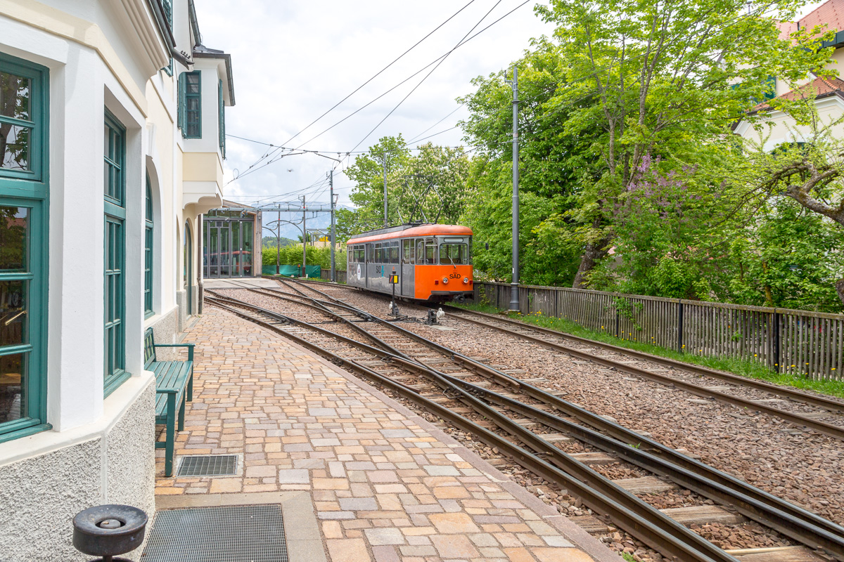 The old narrow-gauge local railway station at Soprabolzano. - WCF-6017.jpg