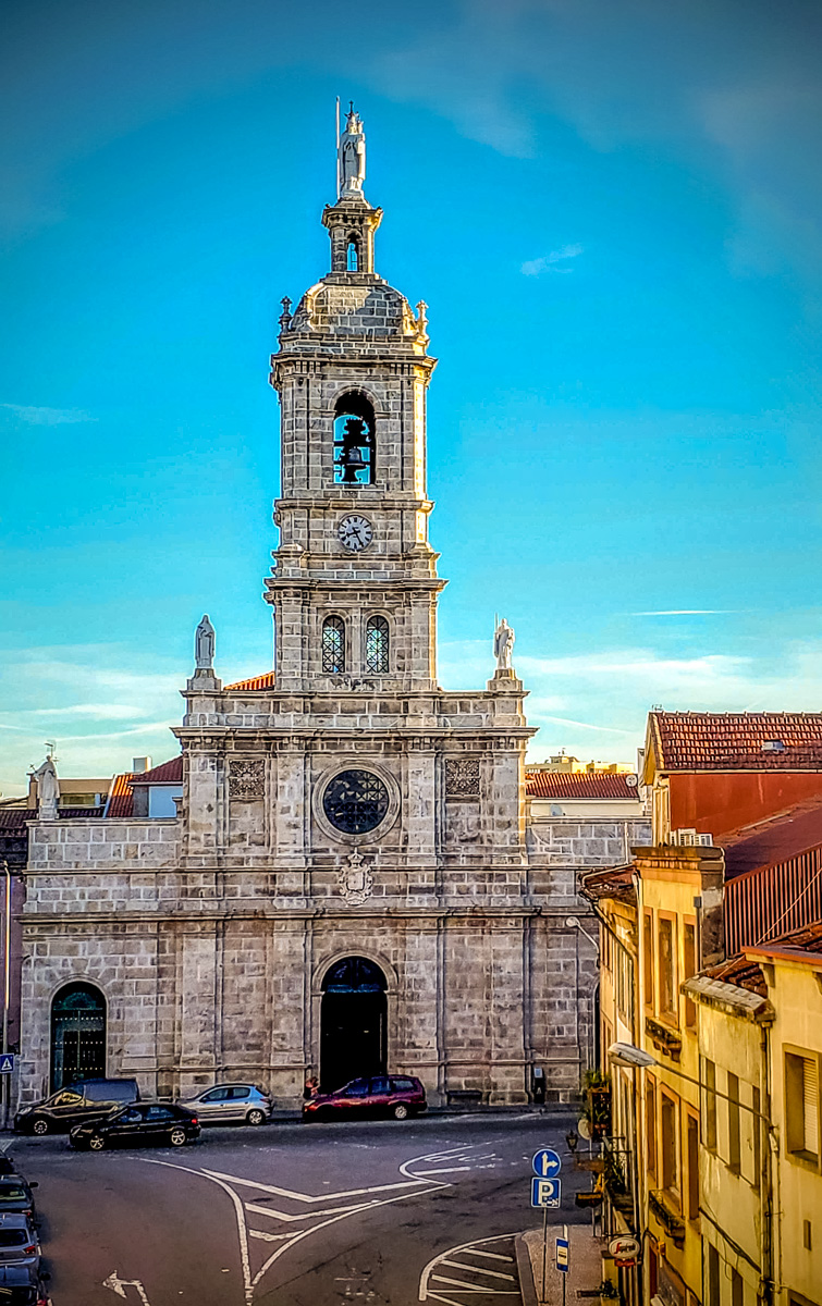 Igreja do Carmo is a 17th-century church visible from the window of our hotel room. - WCF-2.jpg