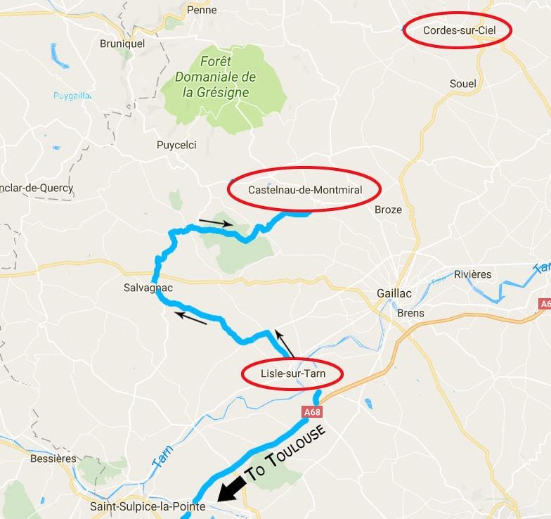 Bastides route-1