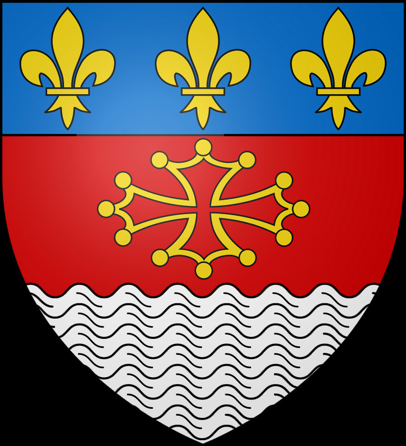 Coat of arms of Lisle-sur-Tarn