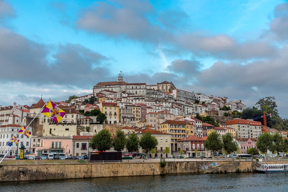 The city of Coimbra from the Ponte de Santa Clara. - WCF-3161.jpg