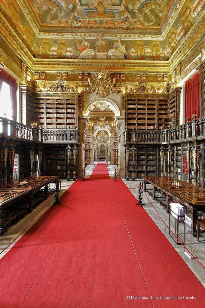 Interior images of the Biblioteca Joanina. ©Biblioteca Geral da Universidade de Coimbra. - WCF-1.jpg