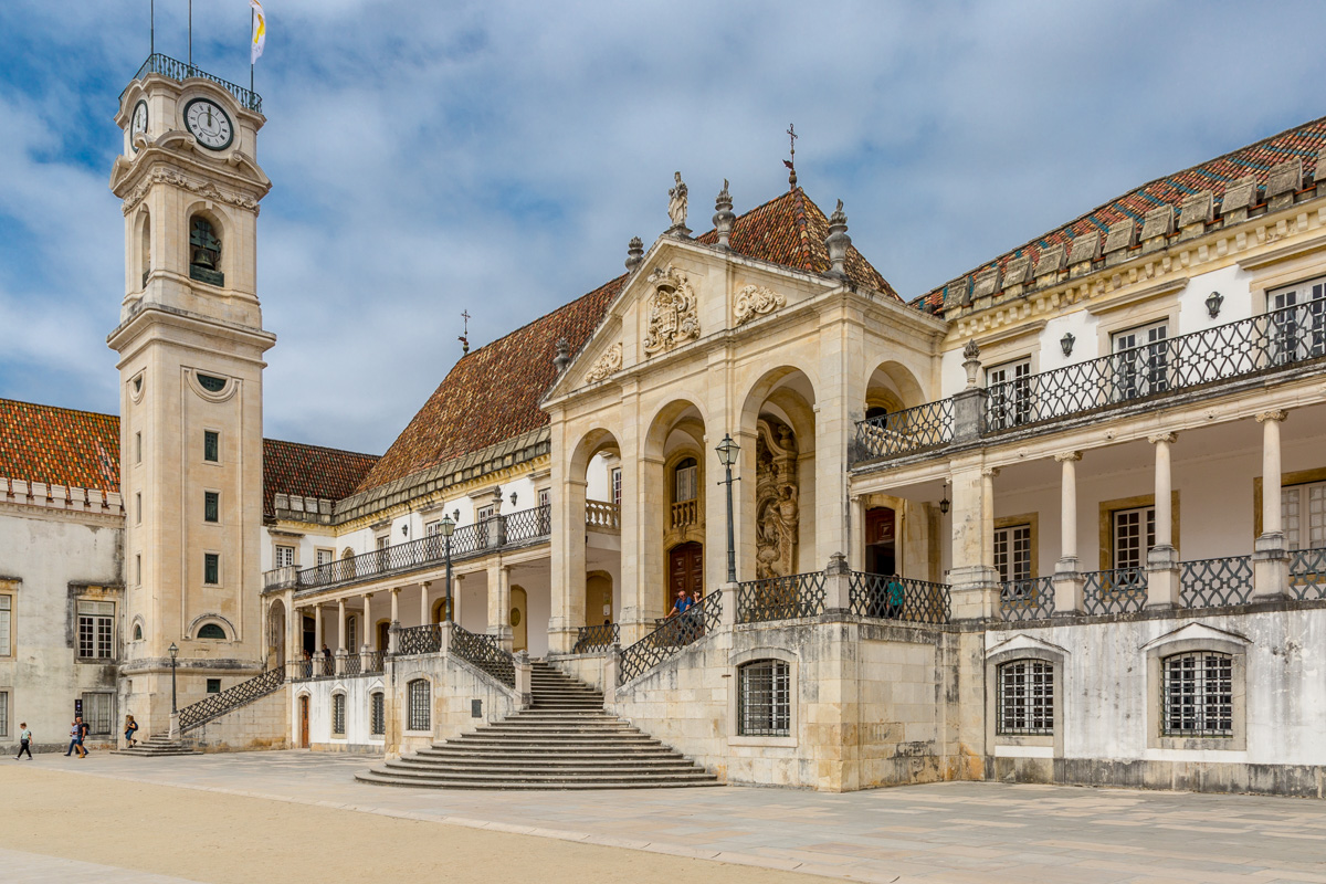 Paço das Escolas (Palace of the Schools), center of the University of Coimbra in Coimbra, Portugal. - WCF-3295.jpg