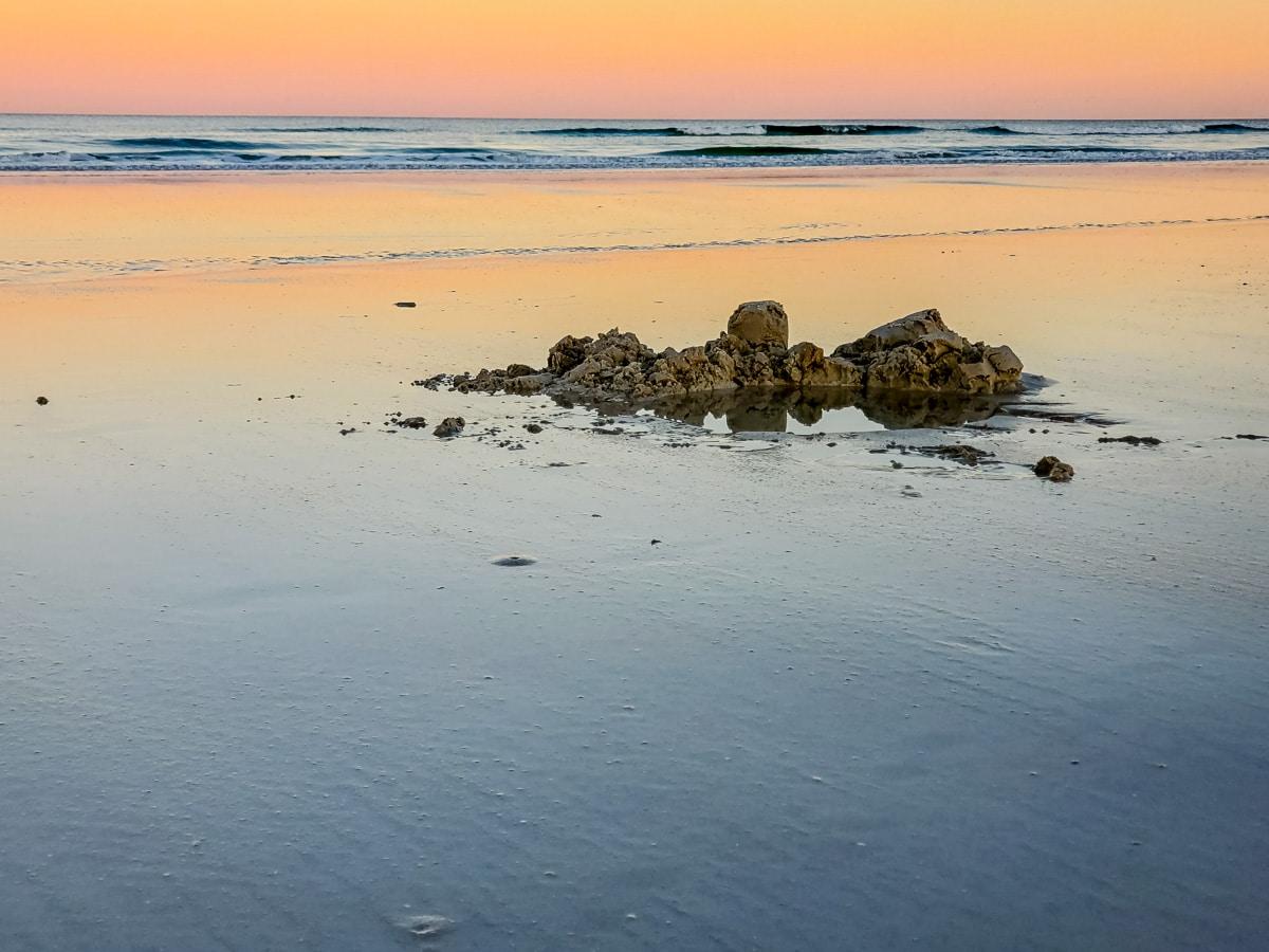 Castle ruins on the Beach. - WCF-174236.jpg