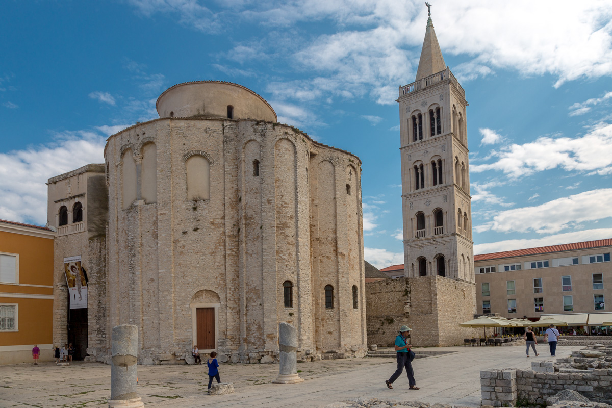 9th C Church of St.Donat, surrounded by Roman ruins, Zadar - WCF-1298.jpg