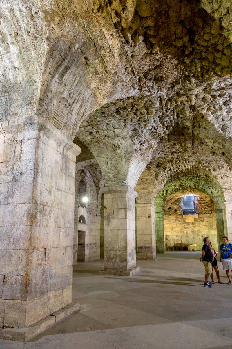 The basements of Diocletian's Palace, Split. - WCF-1533.jpg