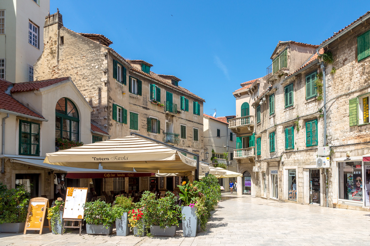Within Diocletian's Palace, Split. WCF-1606.jpg
