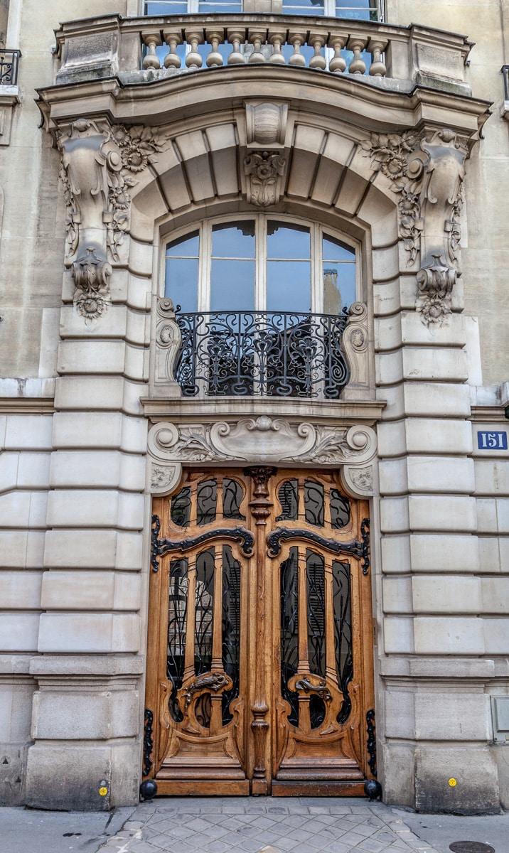 Art noveau entrance