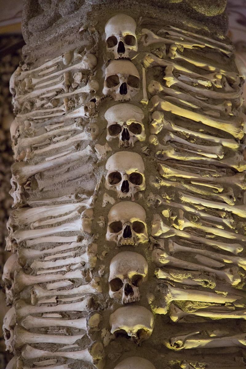 Capela dos Ossos or Chapel of the Bones in the Igreja de São Francisco. - WCF-3948.jpg