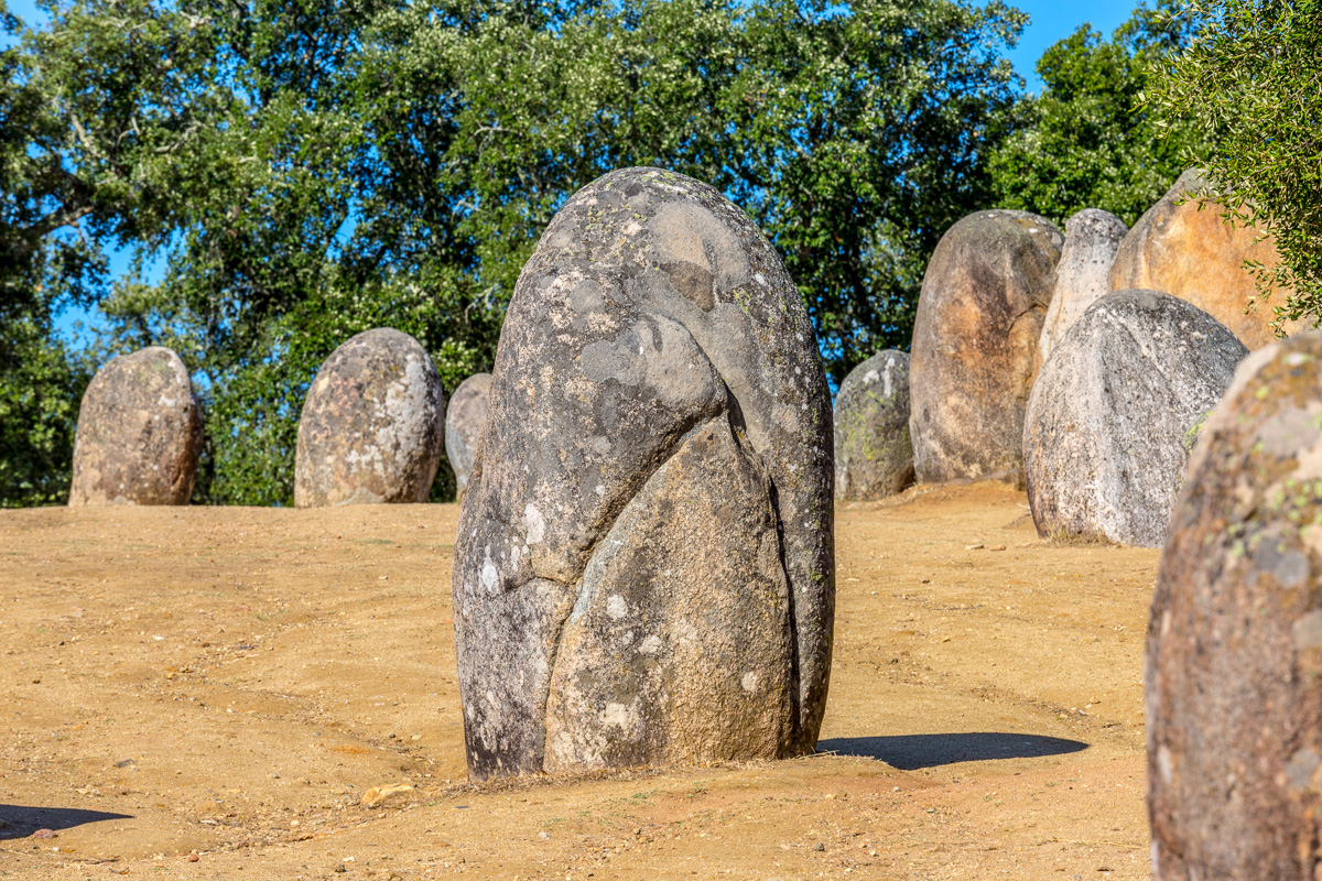 Almendres Cromlech - a forest of about 95 granite monoliths. - WCF-4113.jpg