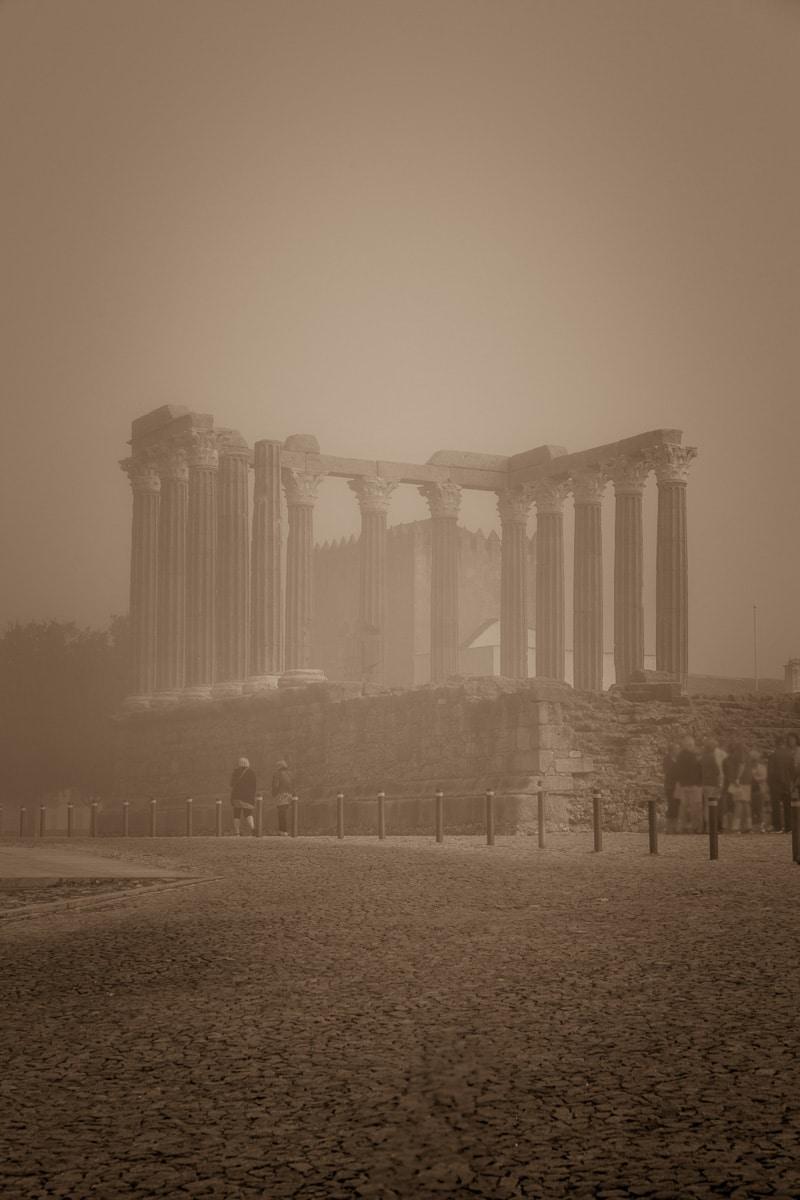 Templo Romano Évora - Corinthian temple built in the 1st century CE. - WCF-4224.jpg