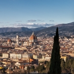 View from San Miniato al Monte, Florence, Italy