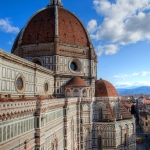 View from Giotto's Campanile, next to the Duomo, Florence, Italy