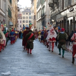 A parade in Florence, Italy