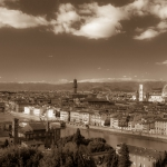 View from Piazzale Michelangelo, Florence, Italy
