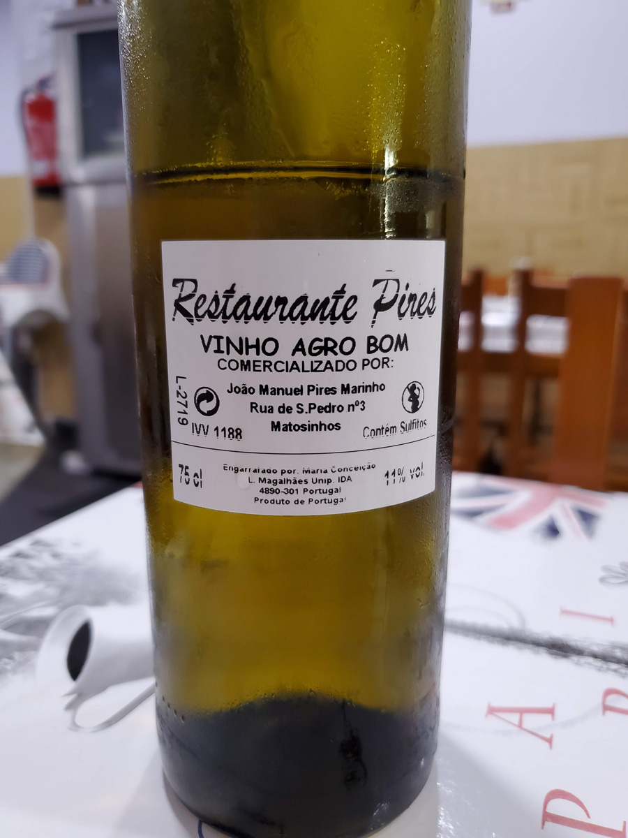 Vinho verde. Tasty, fresh and less than $3 served. - WCF-120823.jpg