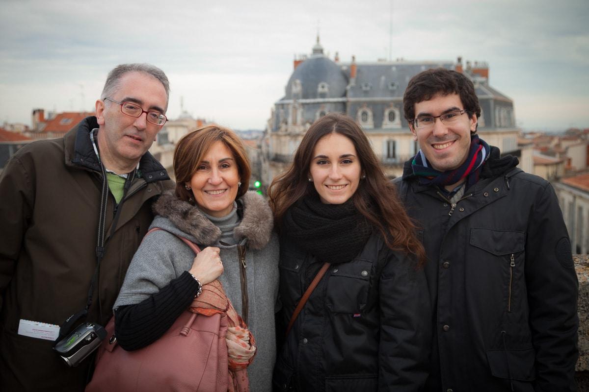 Miquel, Montserrat, son Josep, and daughter, Montpellier France 2014 - 2015 WCF-6073.jpg