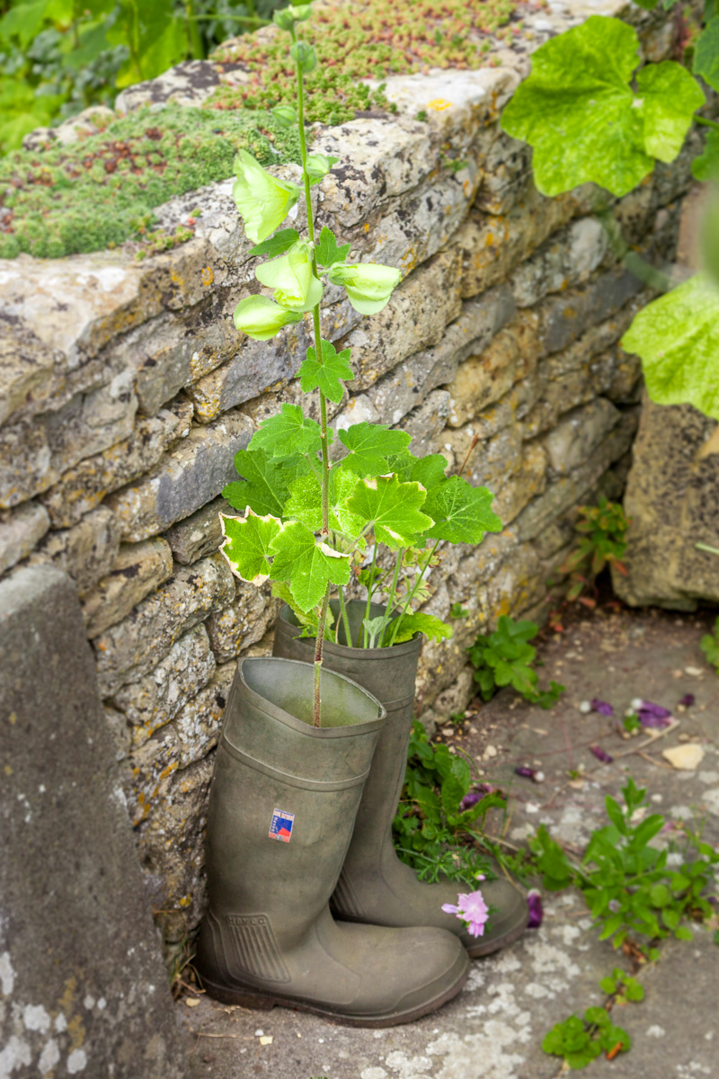 A Wellie planter in Lower Slaughter - WCF-5806.jpg