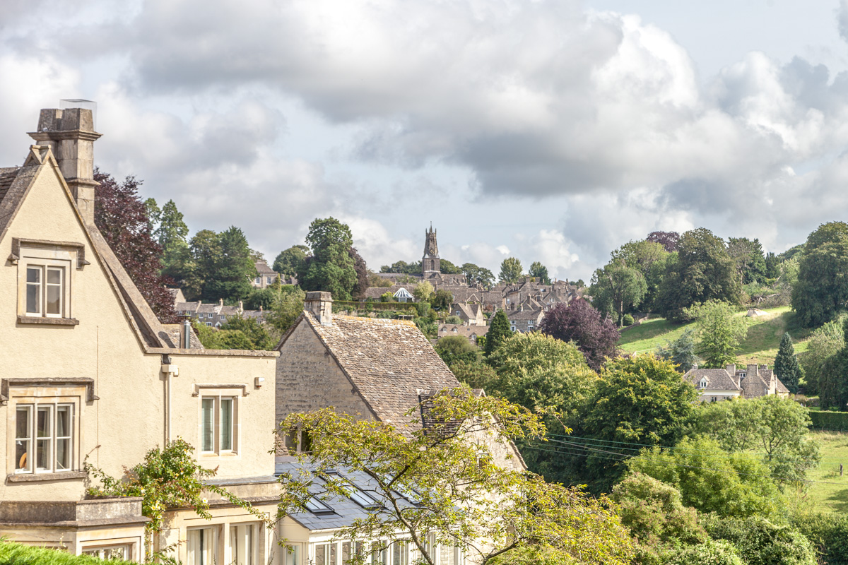 A view from the hamlet of Box with Minchinhampton in the distance. - WCF-6873.jpg