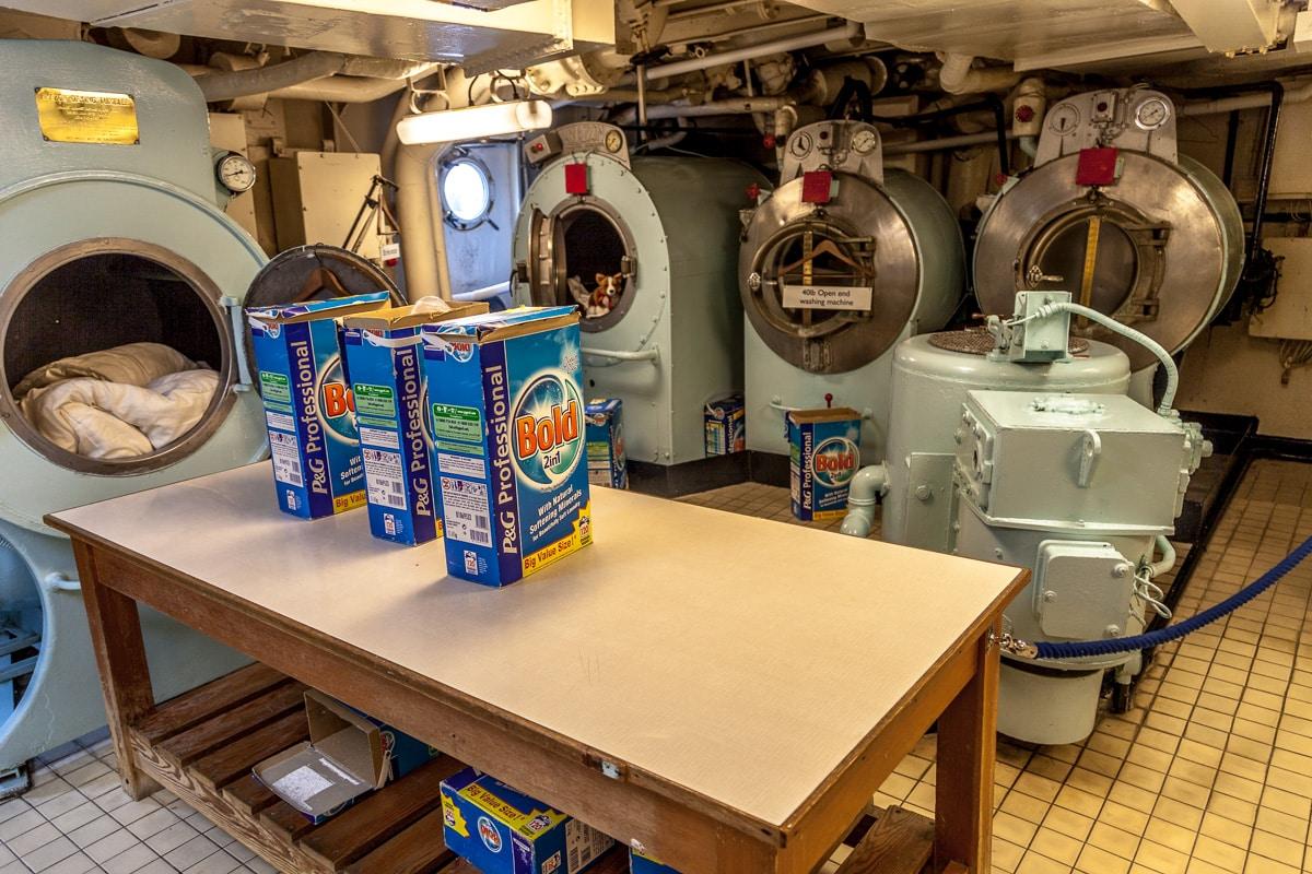 The Royal laundry on the Royal Yacht Britannia - WCF-5624.jpg