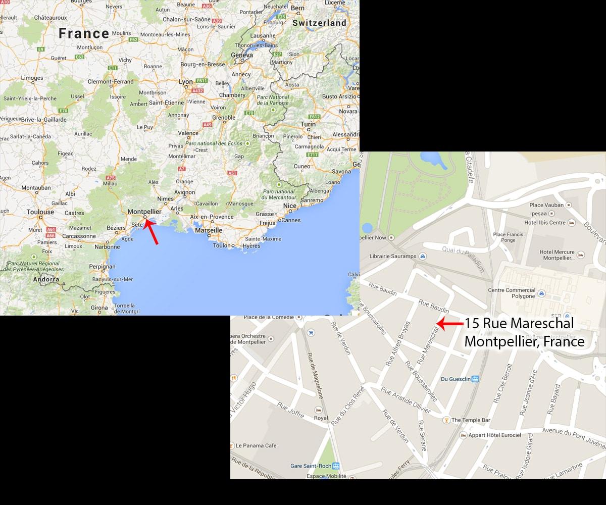 MontpellierMap