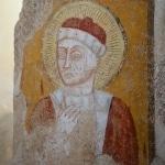 Fresco in the Chiesa di San Damiano, Carsulae