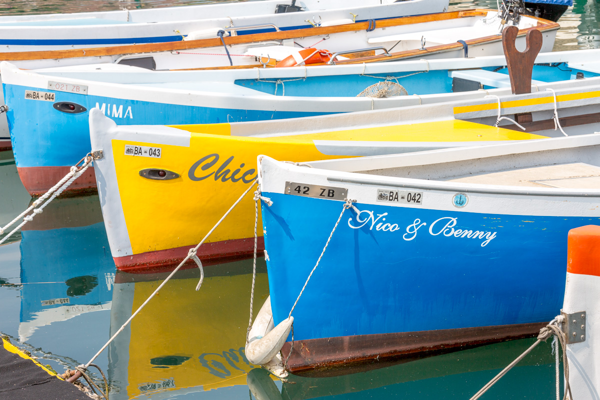Colorful fishing boats in the harbor of Bardolino. - WCF-6921.jpg