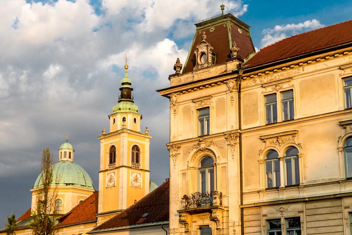 Architecture of Ljubljana