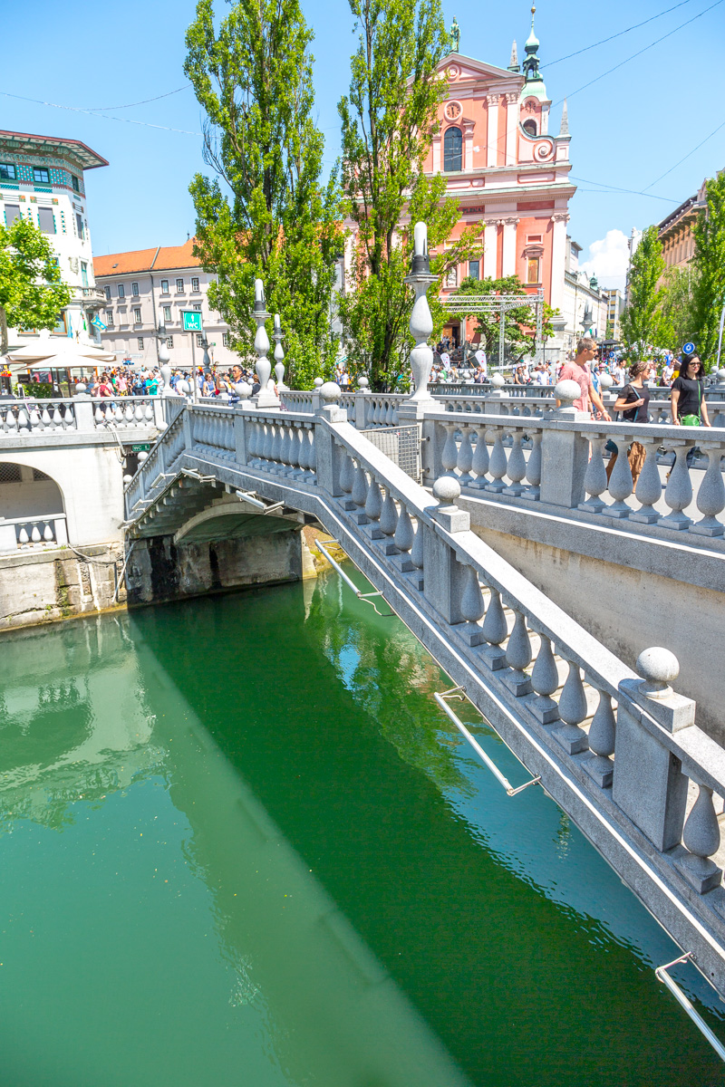 Plečnik's Triple Bridge