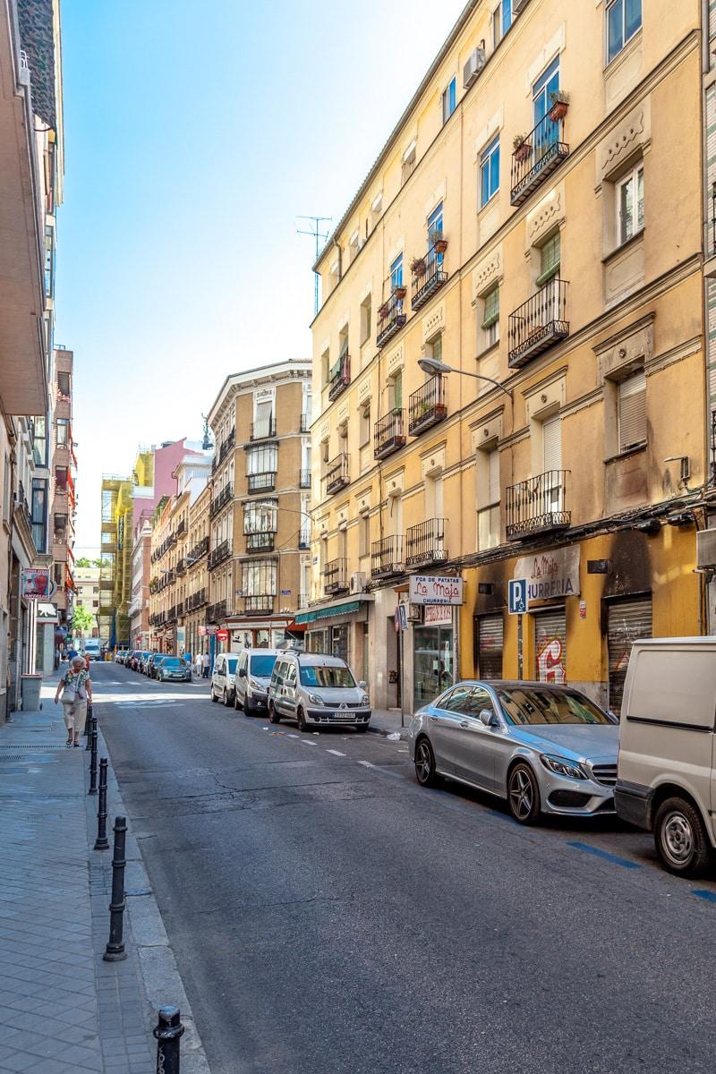 Our street, Calle Luis Fernanda