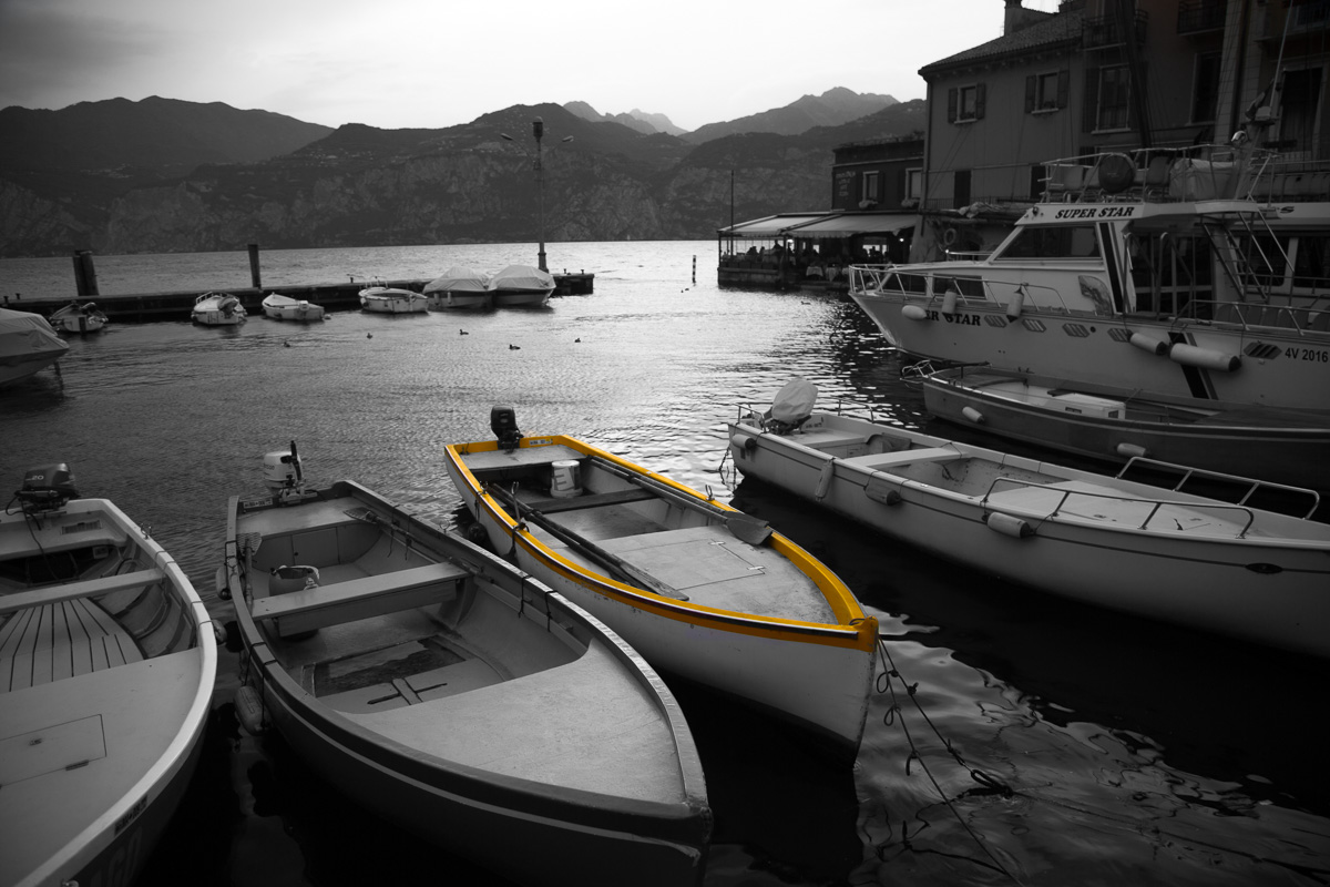 The small harbor at Malcesine at twilight. - WCF-6062.jpg