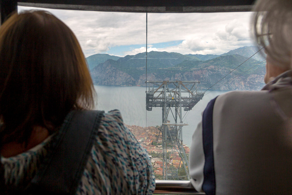 Going up in the cable car to Monte Baldo. - WCF-6186.jpg