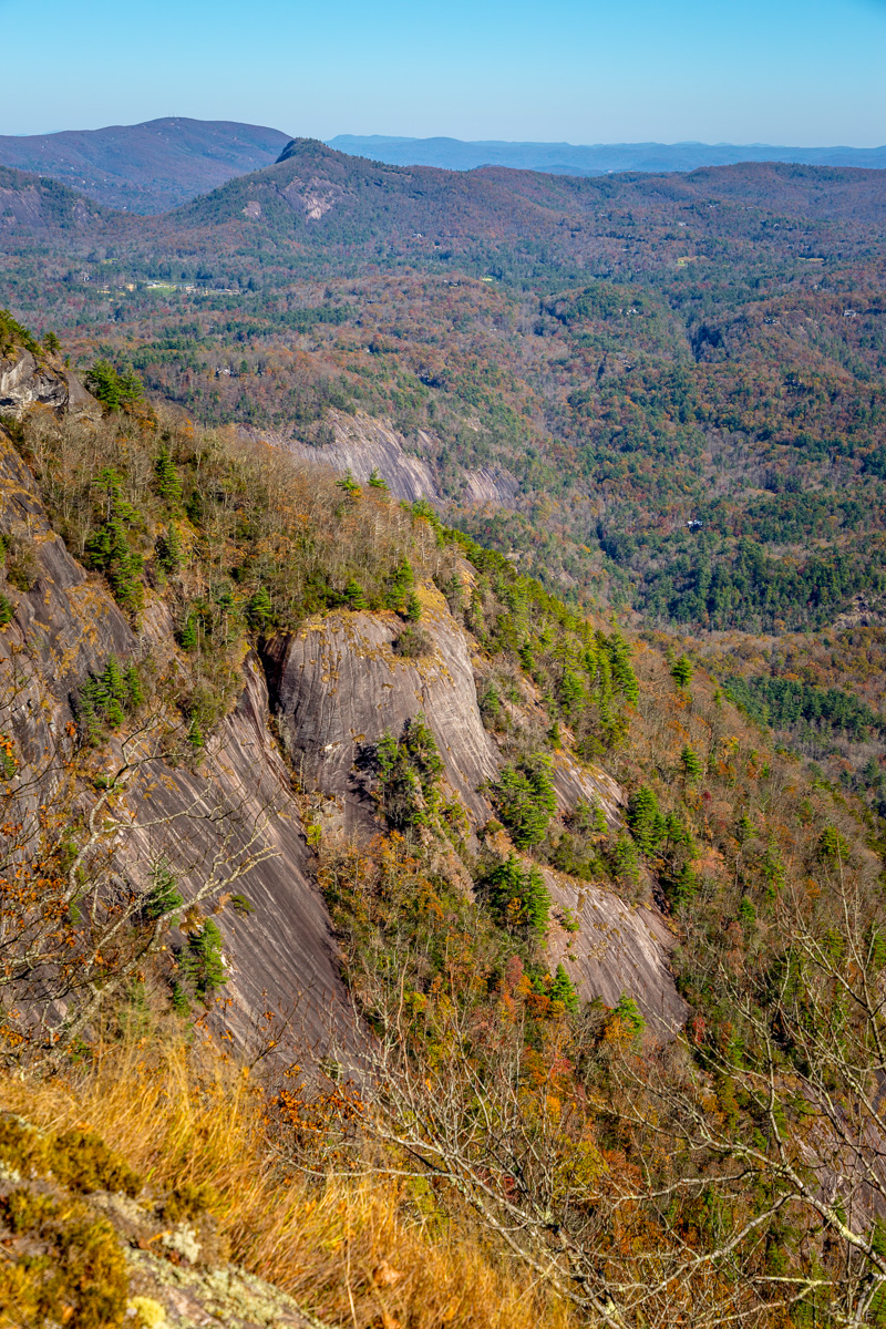 View from Whiteside Mountain, a massive pluton near Highlands, NC with the highest cliffs in Eastern North America. - WCF-0006.jpg