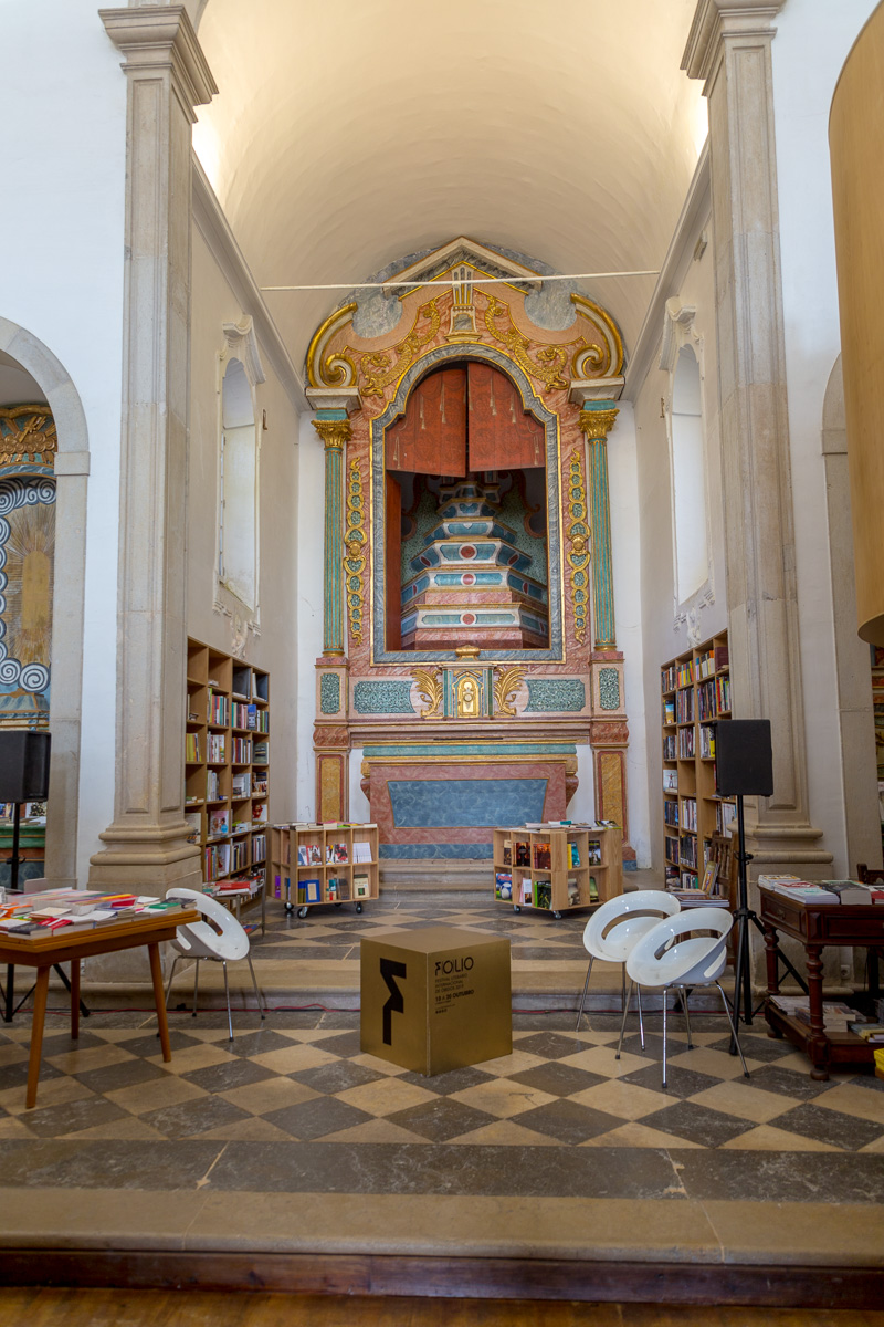 Livraria de Santiago, former church now bookstore. - WCF-6405.jpg