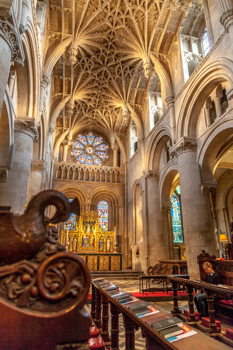 Christ Church is one of the colleges of Oxford University and sits in the heart of the city. Founded in 1546, its academic staff covers almost all subjects taught at Oxford. - WCF-1040.jpg