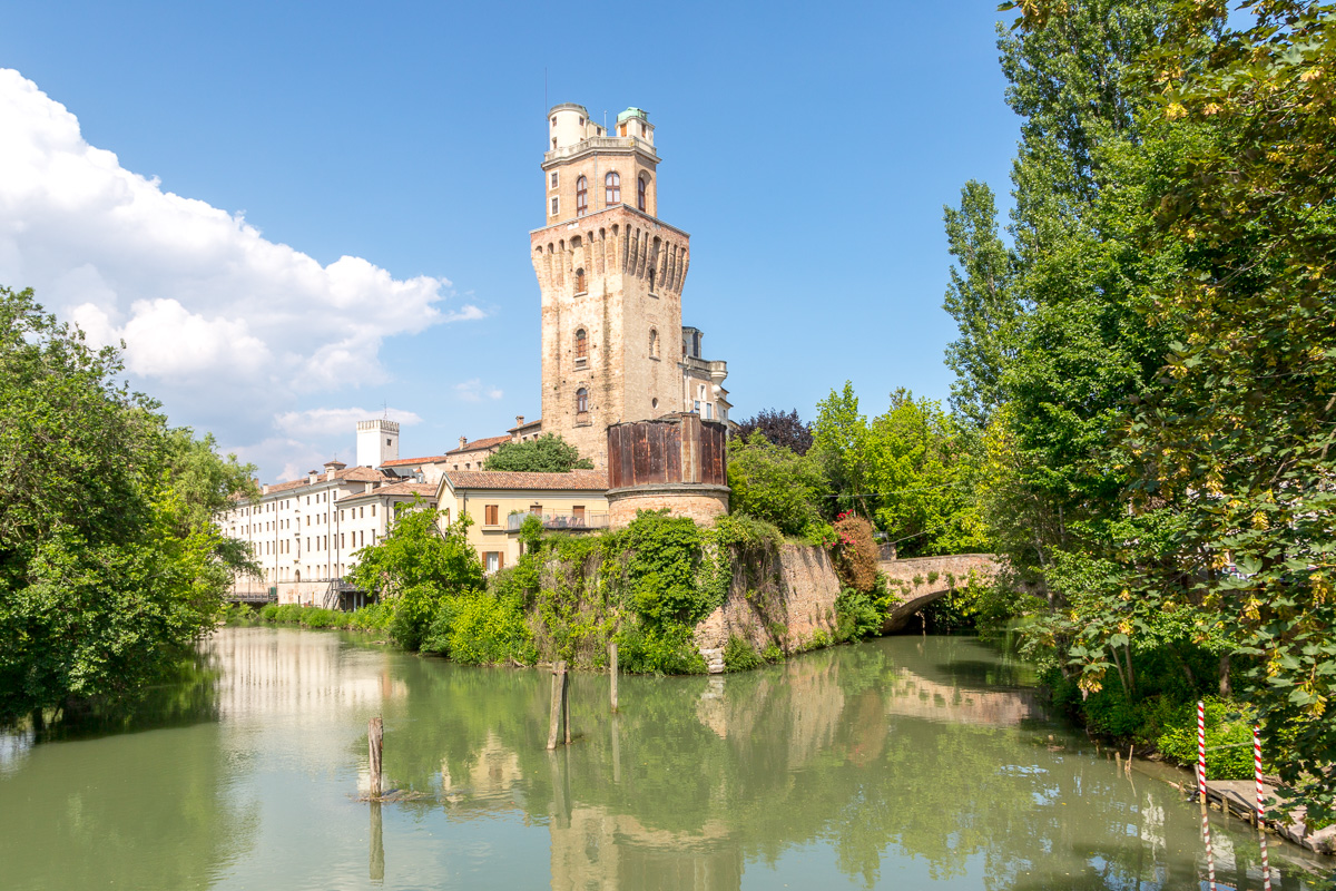 University of Padua tower known as La Specola was erected in the 14th century. - WCF-7225.jpg