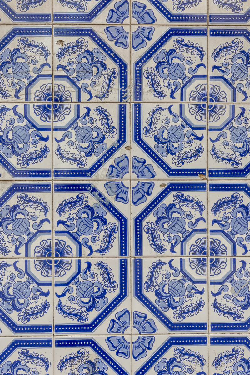 Azulejos are found on the interior and exterior of churches, palaces, ordinary houses, schools, and nowadays, restaurants, bars and even railways or subway stations. Some merely serve as decoration. - WCF-7995.jpg