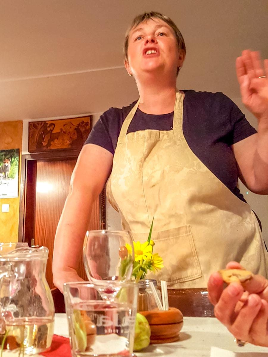 Anka, describing another of the dinner's courses - WCF-212008.jpg