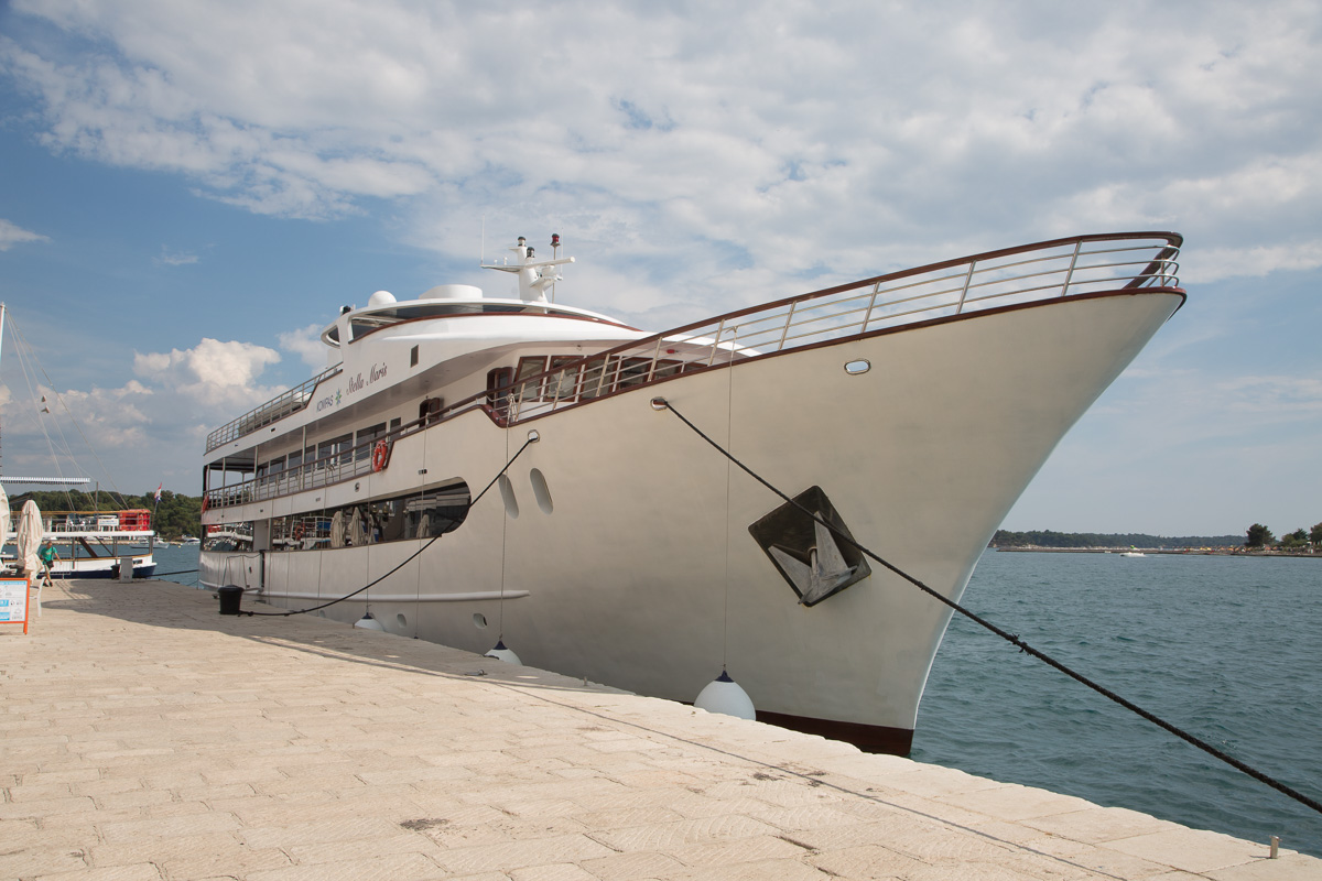 The transportation for our travel through Croatia, the MS Stella Maris. - WCF-0766.jpg