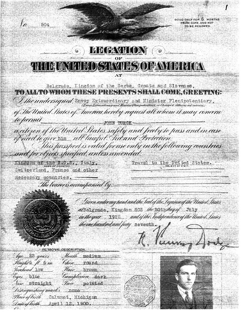 Grandfather Turk's document